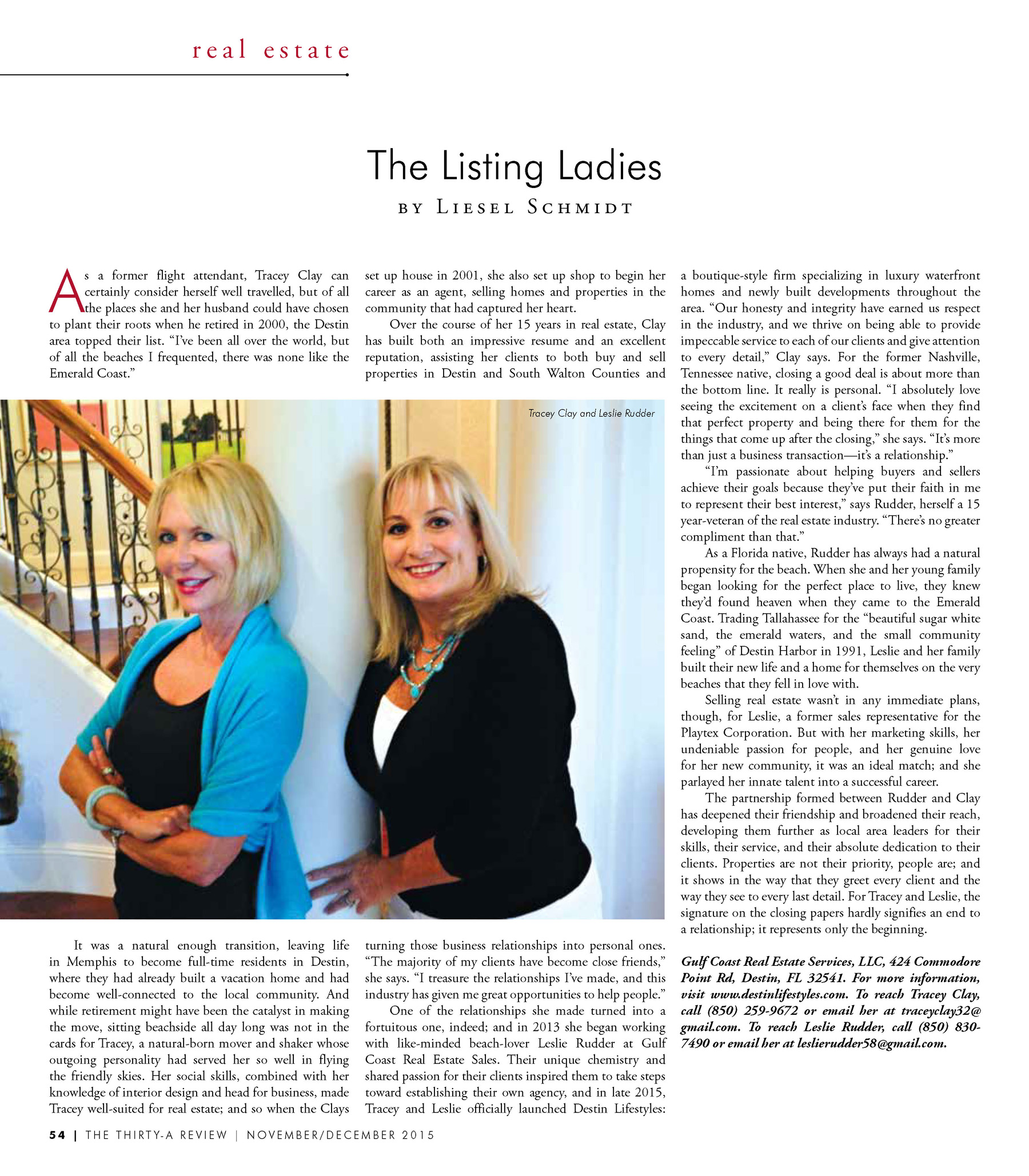 The Listing Ladies- Destin Lifestyles